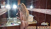 Making of Da gostosa Joyce Camargo na Gravação Pro Canal dela !!