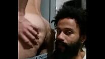 sucking an ass