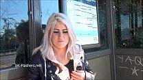 Blonde amateur babe Lissas public flashing and homemade voyeur footage of sexy Vorschaubild
