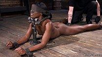 Screenshot Ebony In Device  Bondage Fucked