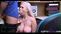 BLONDIE to FUCK for her SINS- JAILER