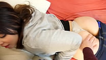 Young girl having intercourse with her boyfriend
