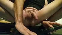 Dildo in my ass & cum 3 times