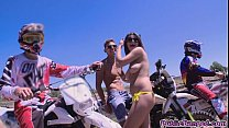 Big titted latina babe Cynthia Doll fucked in public thumbnail
