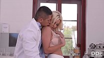 bronx backpage ⁃ Dirty talkin Blonde Sienna Day gives the Footjob of the Century! thumbnail