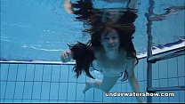 Cute Umora is swimming nude in the pool & pornoonline hd thumbnail
