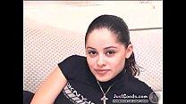 Latina gf age 19, height 4'10 horny amateur coed masturbation