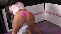 Pyjamas and Panties Match (Strip-Wrestling Match) w, Loser gets strapped in a nappy (diaper)!! ~ Beth Bennett vs 'The Stinkface-Queen' Gabby Montanna