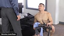 Jeremy Spreadums with Reed Jameson at The Business Of Barebacking Part 3 Scene 1 - Trailer preview - Bromo