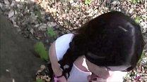 German Public - Deutsche Studentin Elisa in Berlin mitten im Park gefickt Vorschaubild