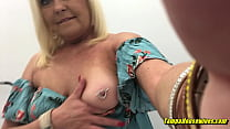 A Horny Housewife Gets Out to Show Herself Off in Public