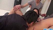 Hot Asian gangbang with big boobs, Yuri Honma - More at javhd.net