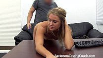 Fit Babe Assfucked n Creampie on Casting Couch thumbnail