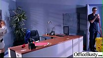 Sex On Cam With Big Melon Tits Office Girl (Cindy Starfall) video-08