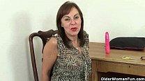 British granny Amanda Degas has hot solo sex ◦ [foxpirn] thumbnail