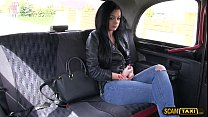 Babe Erica gets her puss slammed hard in all angles