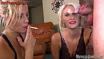 Two femdom Mistresses ruin a cock Vorschaubild