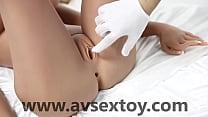 Avsextoy Angelia 158cm Silicone Love Sex Doll with Metal Skeleton 3 Entries Lifelike Sexy Toy