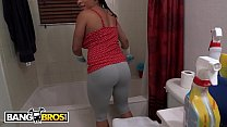 BANGBROS - My Dirty Maid Latina Becca Diamond Sells Her Pussy For Cash Money