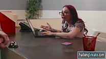 Gf Monique gets fucked in the office