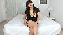 Dulce Lylah sticks a GIANT DILDO inside herself before her hot date