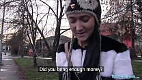Public Agent Russian Gets Fucked By a Big Cock in her Bedroom Vorschaubild