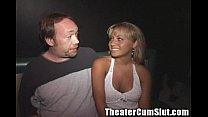 Group Sex Party in a local seedy Tampa Porn Theater - 69VClub.Com