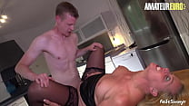 REIFE SWINGER - Young Real Estate Agent Fucks Hard With A MILF Client