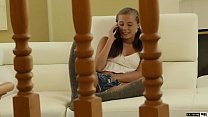 Cute Teen Carolina Sweets Takes Her Stepfathers Cock And Cum!  OH BOY! - 69VClub.Com