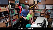 ShopLyfter - Hot Teen (Alexa Raye) Apprehended And Fucked In Security Office