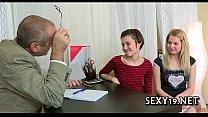 Fellatio for mature teacher Image