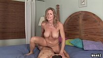 WANKZ- Cougar Jade Jamison Loves Her Warm Facial