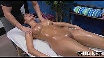 Hot naked massage