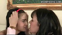 Mature babe Rayveness teach teen Zoe Kush sex l...