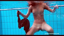 Nata swims and shakes her ass