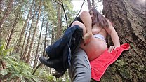 Download video bokep Risky Public Creampie With Horny PAWG 3gp terbaru