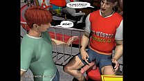 CHARLIE AT THE CARNIVAL: 3D Gay World Comics