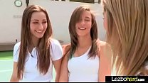 Horny Lesbo Girls (Dani Daniels & Malena Morgan & Lia Lor) Play And Make Love video-13