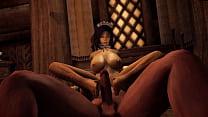 The Lustful Argonian Maid -Skyrim