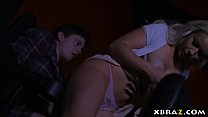 sister orgasm | Teen fucks boyfriend in the cinema with her stepmom there thumbnail