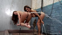 Lesbian big ass fucked and clystered