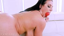 EvilAngel - Angela White Drenched In Squirt While Anally Probed & Fucked