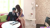 Rosa Kawashima ends with sperm in mouth after great BJ - More at Slurpjp.com thumbnail