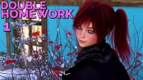 Download video bokep DOUBLE HOMEWORK #01 - Let's play with some hot ... 3gp terbaru