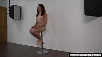 beautiful amateur squirted our cameraman: bleeding pussy porn thumbnail