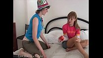 Playing with sex toys was not ever so fun for teen lesbian babes