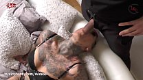 My Dirty Hobby - Tattooed MILF swallows big dick Preview