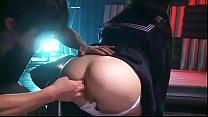 Arisa Nakano aprende una muy dura lección anal