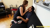 Gori Ma'am intoxicates Indian boy and gets her ...