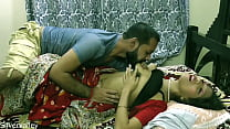 Indian horny unsatisfied wife having sex with BA pass caretaker:: With clear Hindi audio